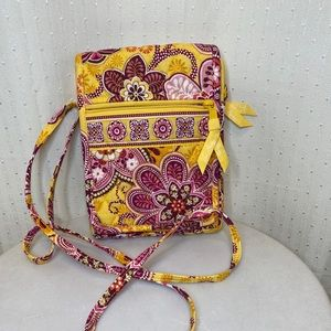 Vera Bradley crossbody small hipster bag
